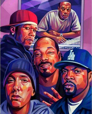 Обои на телефон хип хоп, эминем, хоп, хип, студия, лед, легенды, куб, snoop dogg, ice cube, hiphop legends, hip hop legends, drdre, 50 cent