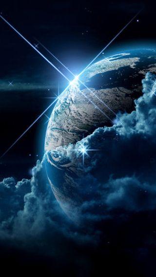 Обои на телефон солнечный свет, природа, земля, earth hd
