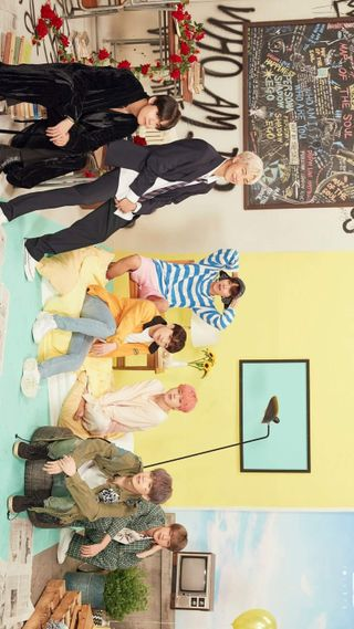 Обои на телефон шуга, чонгук, чимин, тэхен, семья, портрет, джин, группа, бтс, taehyung v, rm, jhope, bts family portrait, bts