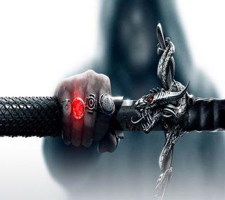 Обои на телефон эпоха, меч, дракон, inquistion, dragon age