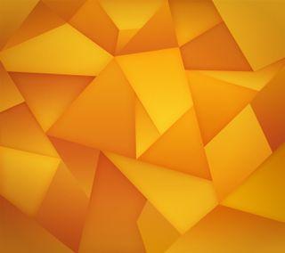 Обои на телефон треугольники, цветные, треугольник, оранжевые, абстрактные, nexus