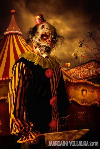 Обои на телефон жуткие, ужасы, клоун, circus