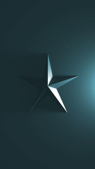 Обои на телефон чистые, простые, синие, свежий, пентаграмма, крутые, зеленые, звезда, дизайн, hd