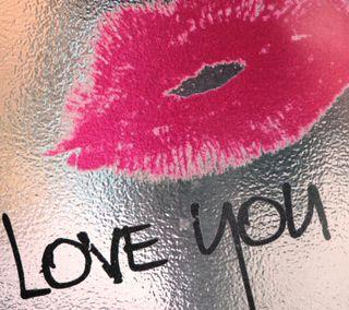 Обои на телефон окно, губы, любовь, красые, love