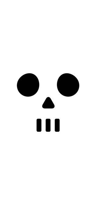 Обои на телефон пятница, черные, череп, панда, маска, лицо, крутые, желтые, грустные, белые, white wallpaper