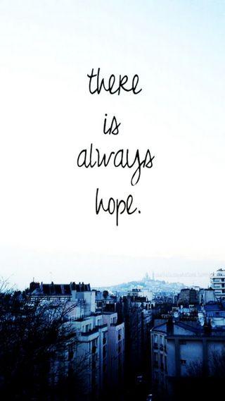 Обои на телефон надежда, всегда