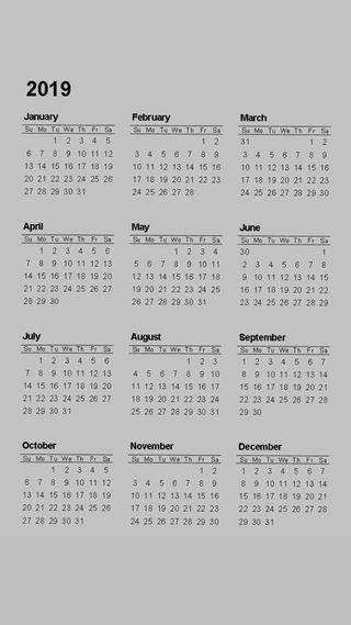 Обои на телефон календарь, новый, андроид, айфон, months, iphone, android, 4k, 2k19, 2019 calendar v0, 2019, 19