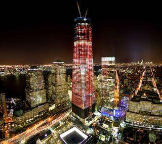 Обои на телефон нью йорк, свобода, новый, манхэттен, йорк, башня, wtc, one, new york tower one