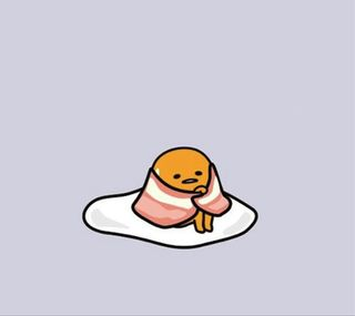 Обои на телефон яйца, ленивый, каваи, lazy egg8, lazy egg, gudetama, bacon