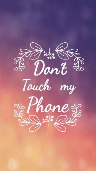 Обои на телефон трогать, не, телефон