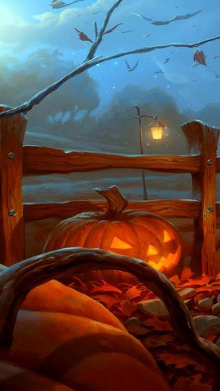 Обои на телефон тыква, хэллоуин, праздник