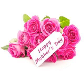 Обои на телефон день, счастливые, розы, розовые, матери, мама, happy