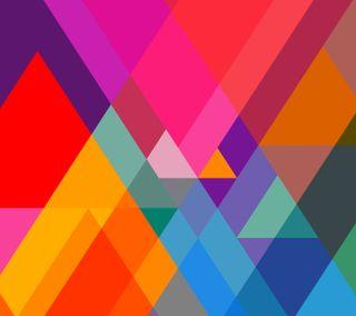 Обои на телефон треугольник, эпл, цветные, формы, айфон, triangular, mac, iphone, ios, apple
