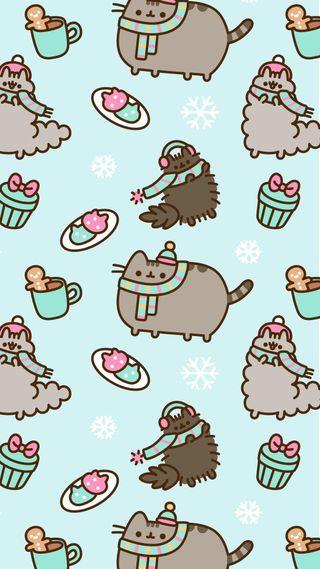 Обои на телефон темы, розовые, рождество, ремикс, привет, мистер, миньоны, мама, коты, коричневые, единорог, peanuts, hello, christmas cats
