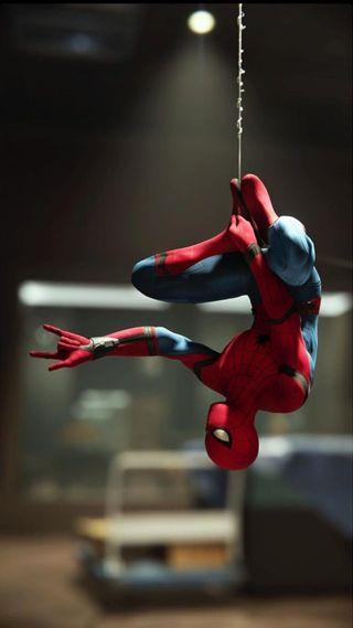Обои на телефон человек паук, марвел, дом, marvel