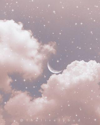 Обои на телефон эстетические, серые, звезды, небо, луна, космос, вайб, белые, айфон, iphone, aesthetic sky 2