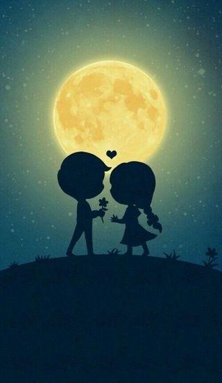 Обои на телефон любовь, ночь, девушки, луна, звезда, дорога, ты, огни, мальчик, я, корабли