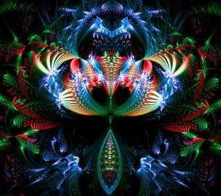 Обои на телефон эпичные, фрактал, шаблон, абстрактные, hd, epic fractal, 3д, 3d