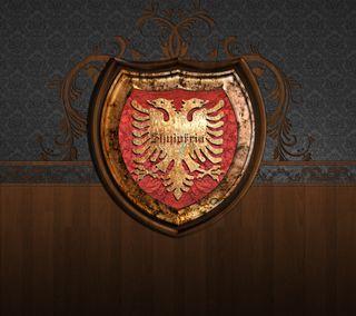 Обои на телефон эмблемы, логотипы, албания, albanian emblem