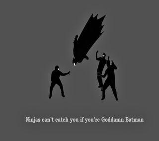 Обои на телефон юмор, ниндзя, забавные, бэтмен, атака