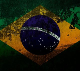 Обои на телефон бразилия, флаг
