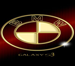 Обои на телефон машины, золотые, галактика, бмв, galaxy s3, bmw