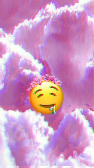 Обои на телефон сбой, эмоджи, цветные, прекрасные, облака, color clouds