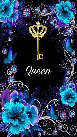 Обои на телефон случайные, синие, королева, yesss queen