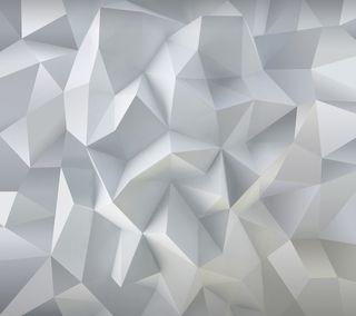 Обои на телефон треугольник, белые, абстрактные, white triangle stylo, stylo, lg, g4, 3д, 3d