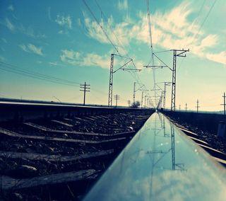 Обои на телефон поезда, train rel lg g3, rel