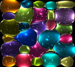 Обои на телефон мозаика, цветные, стекло, окрашенный, арт, абстрактные, art, 3д, 3d