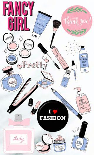 Обои на телефон симпатичные, макияж, красота, королева, делать, perfect, make-up