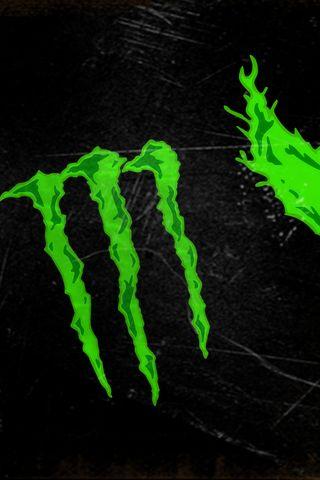 Обои на телефон энергетики, черные, улица, крутые, зеленые, глаза, абстрактные, monster
