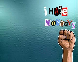 Обои на телефон ненависть, monday, hate u, hate mondays