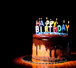 Обои на телефон happy, прекрасные, счастливые, день рождения, торт, шоколад