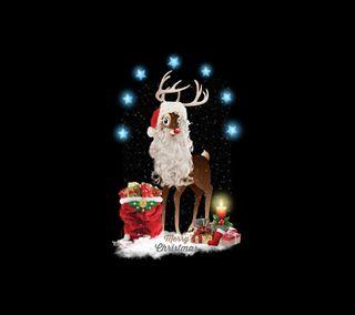 Обои на телефон christmas time 6, рождество, праздник, время, олень