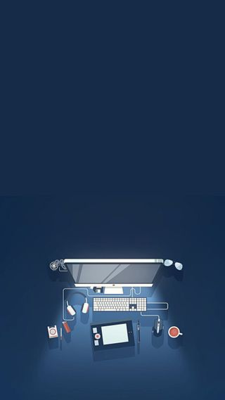 Обои на телефон геймер, pc, minimalista, hd, fondo, compu