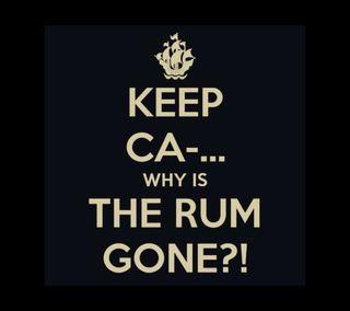 Обои на телефон пираты, спокойствие, карибсий, забавные, whys the rum gone, rum, keep calm