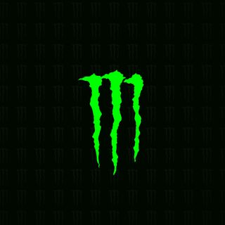 Обои на телефон энергетики, логотипы, monster
