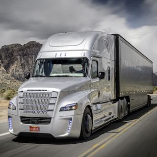 Обои на телефон грузовик, вдохновение, nek, freightliner insp