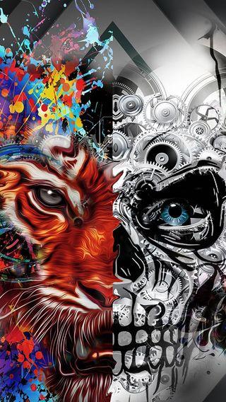 Обои на телефон icio, disegni