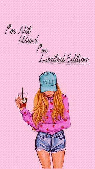 Обои на телефон женщины, цитата, скучать, розовые, рисунки, поговорка, мультфильмы, девушки, версия, limited edition x, limited