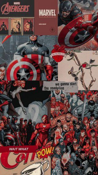 Обои на телефон эстетические, мстители, марвел, комиксы, капитан, американские, америка, marvel