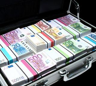 Обои на телефон евро, деньги, currency, banks