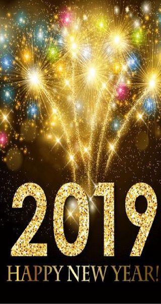 Обои на телефон chrismas, happy, 2019, новый, счастливые, золотые, счастливое, год