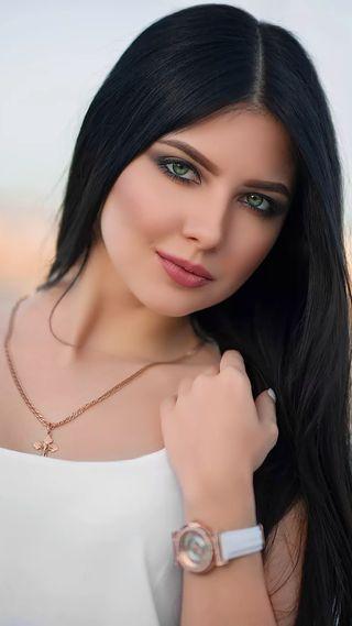 Обои на телефон модели, черные, синие, прекрасные, лицо, красота, девушки, глаза, волосы, black hair