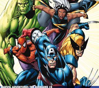 Обои на телефон герои, мстители, марвел, marvel heroes, marvel