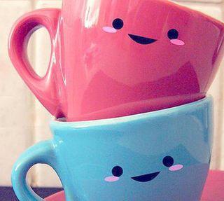 Обои на телефон дружба, счастливые, смайлики, милые, любовь, support, mugs, mug, love, happy, cups