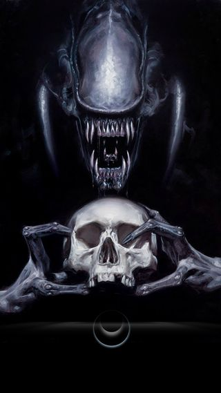 Обои на телефон голова, фильмы, смерть, пришелец, xenomorph, avp