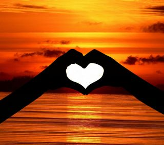Обои на телефон рука, сердце, любовь, love - heart - hand, love